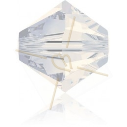4mm toupie White Opal Swarovski 234
