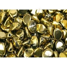 cuir 10mm metallic brown silver