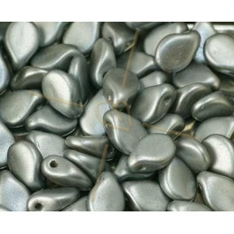 Pip-beads 5*7mm Pastel Light Grey