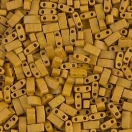 Damesuurwerk goudkleur Certus leder band bruin