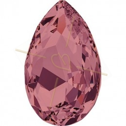 Swarovski cabochon Pear 30*20mm Burgundy