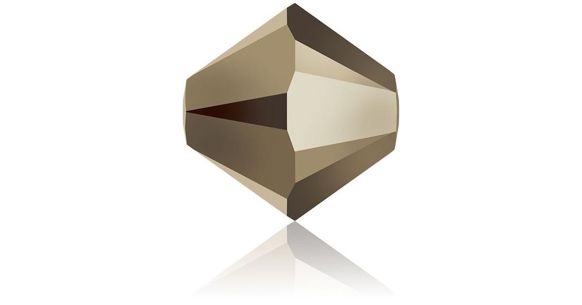 6mm Toupie Metallic Light Gold 001MTGLD
