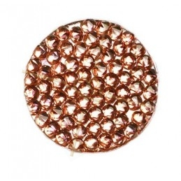 Crystal ROCKS 24mm Vintage Rose Copper