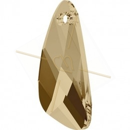 6690 Wing Pendant 23mm Golden Shadow GSHA