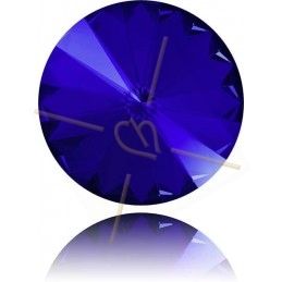 1122 - 14mm Rivoli Swarovski Majestic Blue 296