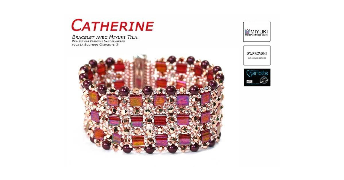 Schema armband Catherine