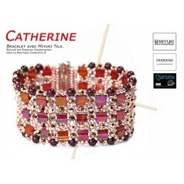 Kit Bracelet Catherine Rouge