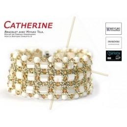 Kit Bracelet Catherine Ivory