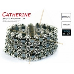 Kit Armband Catherine Hematite