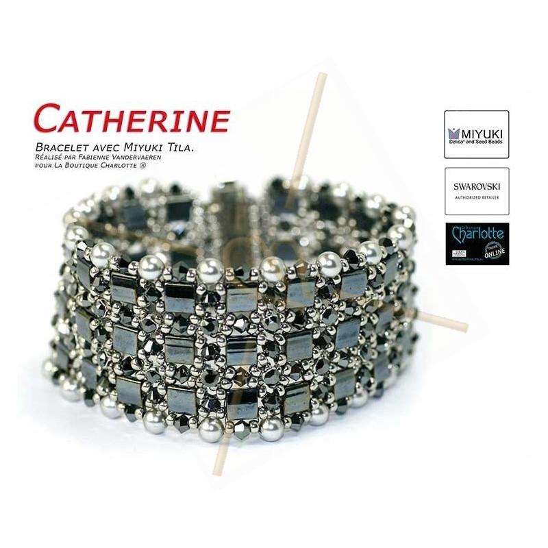 Kit Bracelet Catherine Hematite