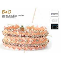 Kit Bracelet BaO Rose