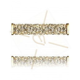 Fine Rocks Tube 5950 30mm Gold - Golden Shadow