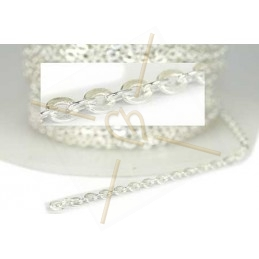 Silver chain .925 with 3mm ring