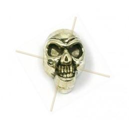 "tussenstuk ""skull"" 13mm"