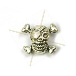 """tussenstuk """"skull 1-oog"""" 13mm"""