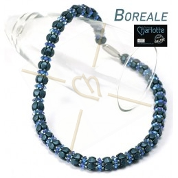 Kit Boreale halsketting Blauw