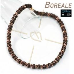 Kit Boreale halsketting Brown Rose Gold