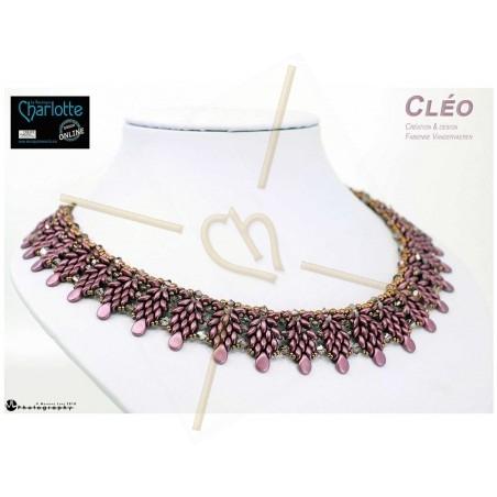 Schema halsketting Cléo