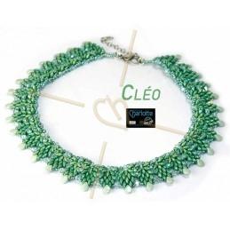 Kit Collier Cléo  Vert Menthe