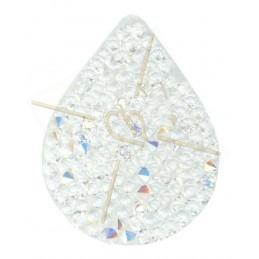 Swarovski Fine Rocks Drop 21*28mm Crystal AB