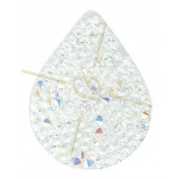 Swarovski Fine Rocks Larme 21*28mm Crystal AB