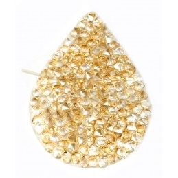 Swarovski Fine Rocks druppel 21*28mm Golden Shadow