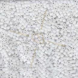Miyuki Cube 1.8mm Mat  White AB