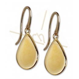 Earrings Larme 21*28mm Gold