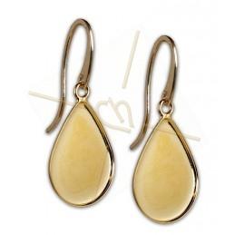 Earrings Larme 21*28mm Gold