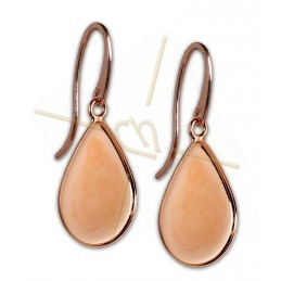 Earrings Larme 21*28mm Rose...
