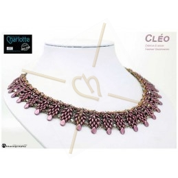 Kit Necklace Cléo Purple Rain
