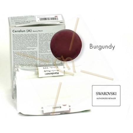 Ceralun TM Burgundy epoxy clay 20 gr.