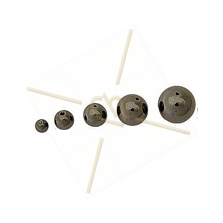 boule 12mm hematite