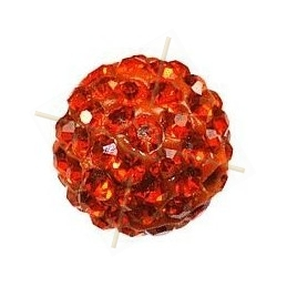 strassbal 6mm round orange