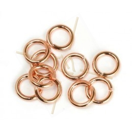 ring 8mm rose gold