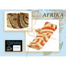 esquema bracelet Peyote afrika
