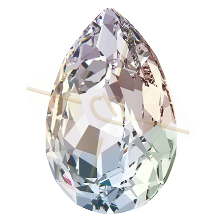 4320 14*10mm pear Swarovski Crystal AB