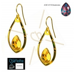 "Earrings ""drop"" with..."