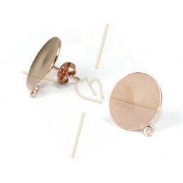 boucle d'oreille disque...