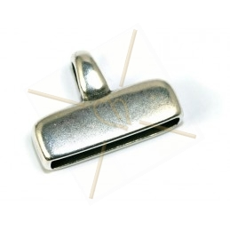 eindstukje metaal 20*4mm...