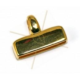 endcap metal 20*4mm Gold...