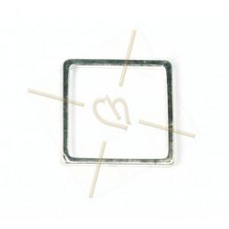 square metal element, 15mm...