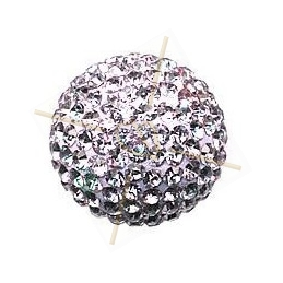 strassbal 14mm round violet