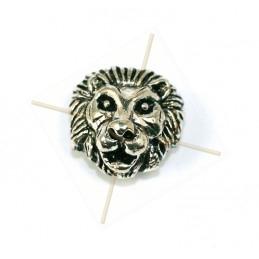 "tussenstuk metaal ""lion""..."
