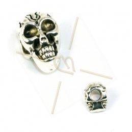 "intercallaire metal ""skull""..."