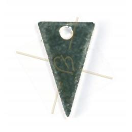 pendentif triangle metal...