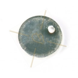 round pendant metal 10mm...