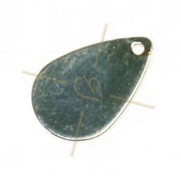 goute pendentif metal 15mm...