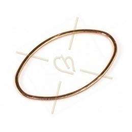 Arcos® par Puca® 5*10mm Bronze Gold Mat