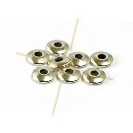 tussenstukje rond 6mm gaatje 1.3mm